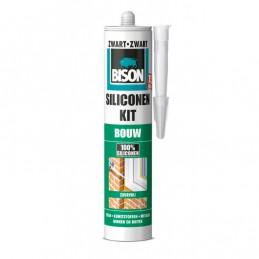 Bison Bouw siliconenkit zwart 310 ml