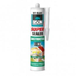 Bison afdichtingskit Super Sealer Construction 290 ml wit