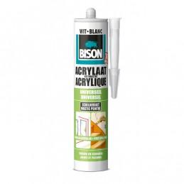 Bison acrylaatkit wit 310 ml