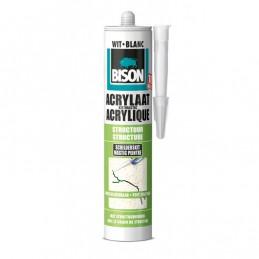 Acrylaatkit Structuur 310 ml wit