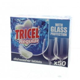 Tricel Regular Vaatwastabletten 50 x 18 gram