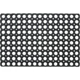 Deurmat open rubber ringmat 80 x 120 cm