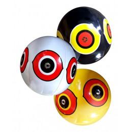 Scare Eye ballon geel