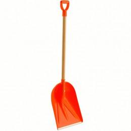 Graanschop / Sneeuwschop oranje met D-Steel