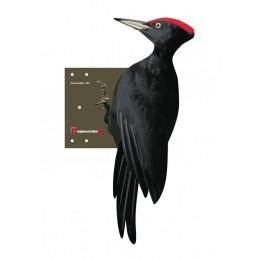 Kunststof zwarte specht 52 cm