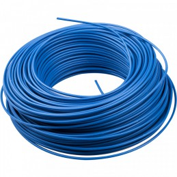 Blauw installatiedraad 100 m x 2.5 mm