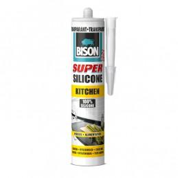 Bison super siliconenkit kitchen transparant 310 ml