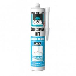 Bison siliconenkit acrylbaden camee 310 ml