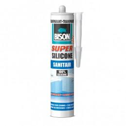 Bison sanitair siliconenkit Super transparant 310 ml