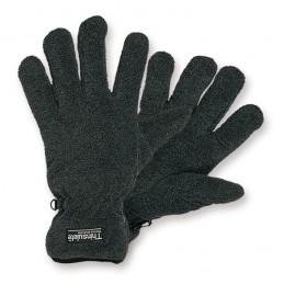Fleece handschoen grijs