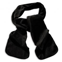 Fleece sjaal Zwart