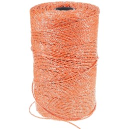 Schrikdraad oranje 3mm 250m