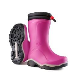 Dunlop Blizzard Kinder winterlaars roze