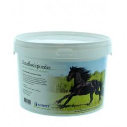 Knoflookpoeder voor paarden