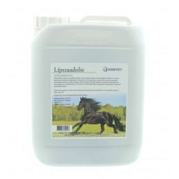 Agrivet lijnzaadolie paard 5 liter