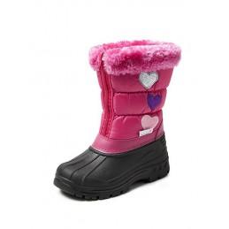 Gevoerde winterlaars kind CW94 roze
