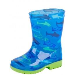 Haai laars kind blauw