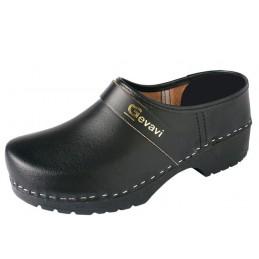 Gesloten schoenklomp 1550 zwart