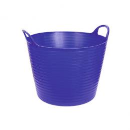 Flexibele mand blauw 28 liter