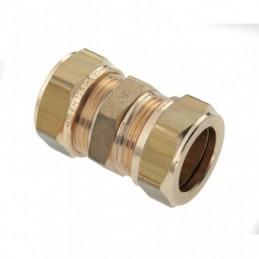 Knelkoppeling messing 12 mm