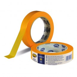 Afplakband Masking tape 4400 oranje 25 mm x 50 m
