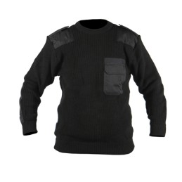 Commandotrui zwart 100% acryl