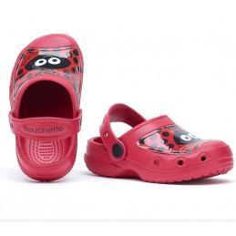 Clogs Anabel kind rood
