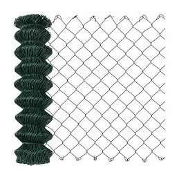 Harmonicagaas groen geplastificeerd 180 cm 25 meter
