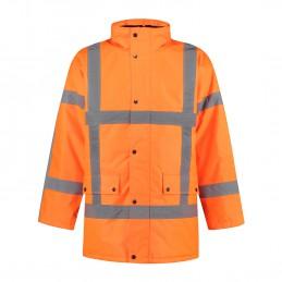 Kuipers parka high visibility RWS oranje