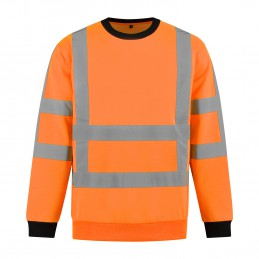 Kuipers High Visibility sweater RWS oranje