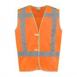 Veiligheidshesje kind High Visibility RWS oranje