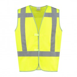 Veiligheidshesje High Visibility RWS geel