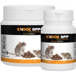 Lokaas voor muizen en ratten 50 gram